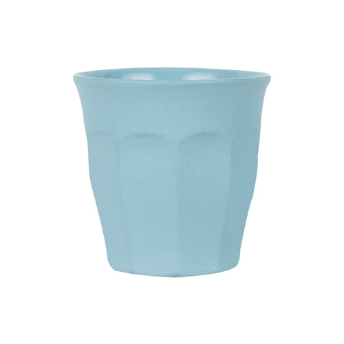 Sm Light Blue Cup With Matte Exterior