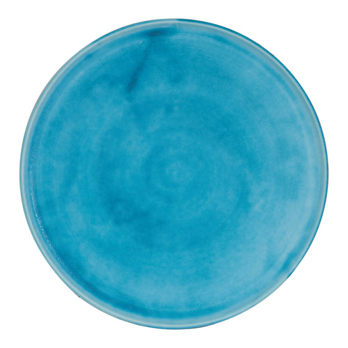 Bright Light Matte Blue Plate