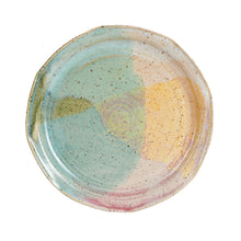 Md Multi-Coloured Speckled Plate