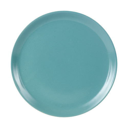 Md Blue/Green Plate With White Bottom