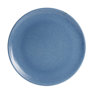Blue Textured Plate