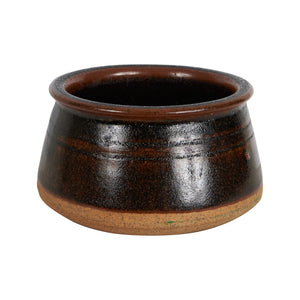 Brown Tapered Bowl