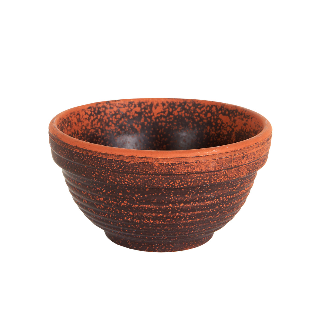 Md Multi-Coloured Brown bowl