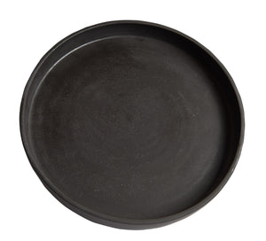 Lg Dark Brown Dish
