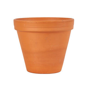 Md Brown Flower Pot