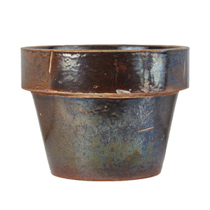 Lg Brown Flower Pot