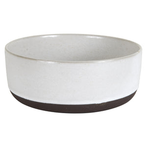 Lg White And Brown Bowl