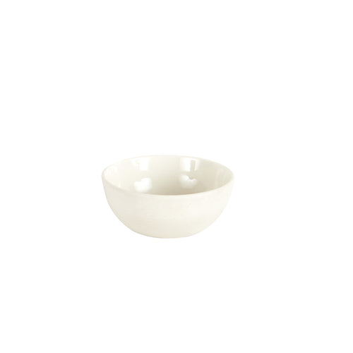 Sm Cream Bowl With Glossy Inside