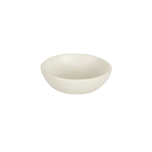 Sm Cream Pinch Bowl