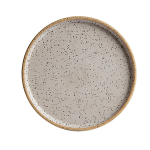 Sm Earthenware Speckled Plate