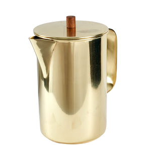 Gold Metal Jug