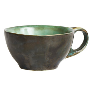 Sm Multi-Tone Green Tea Cup