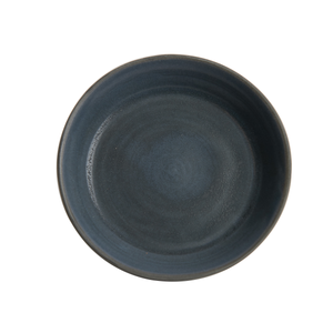 Black Shallow Bowl