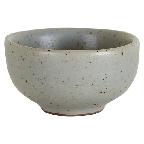 Sm Grey Speckled Pinch Bowl