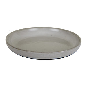 Lg Shallow Light Grey Bowl