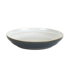Lg Grey Bowl With a Light Grey Inside