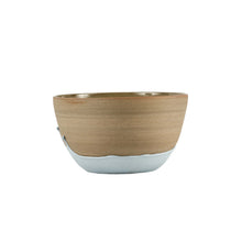 Md Bowl With Grey Dripping Deign