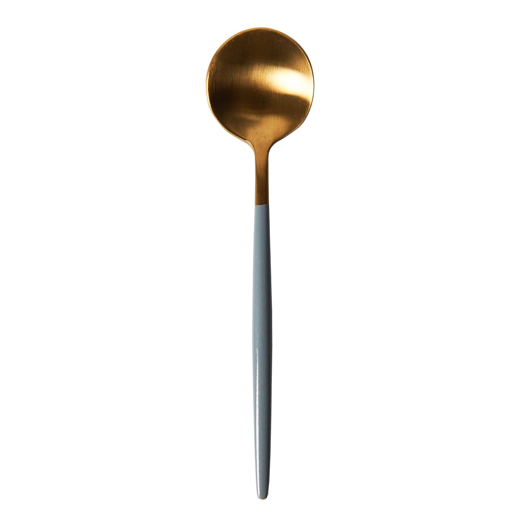 Grey And Gold Spoon