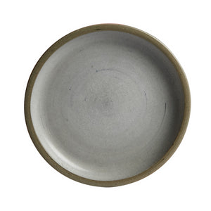 Grey Shallow Plate