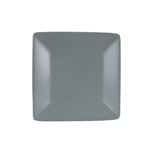 Md Square Dark Grey Plate
