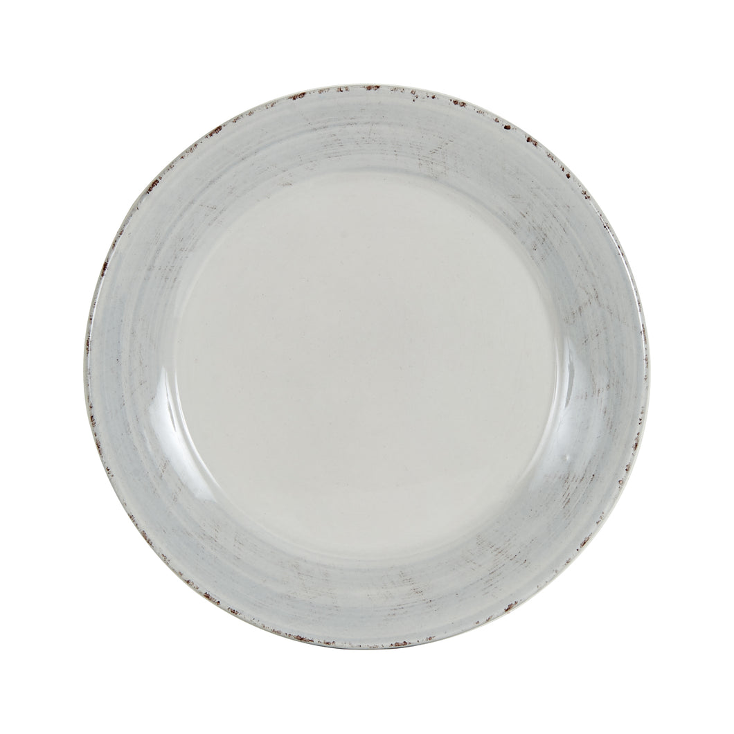 Md Antique Styled Light Grey Plate