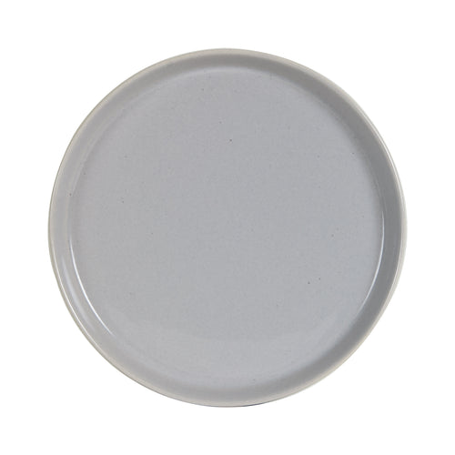 Sm Cool Tone Shallow Grey Plate