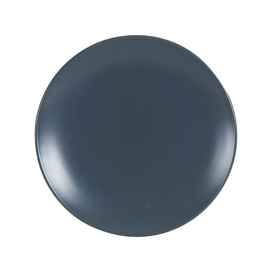 Md Dark Grey Plate With Blue Under Tone