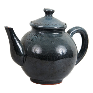 Sm Dark Grey Tea Pot