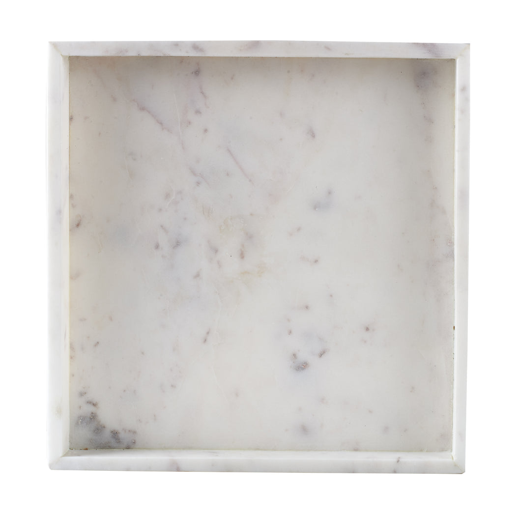 White Square Marble Board/Tray