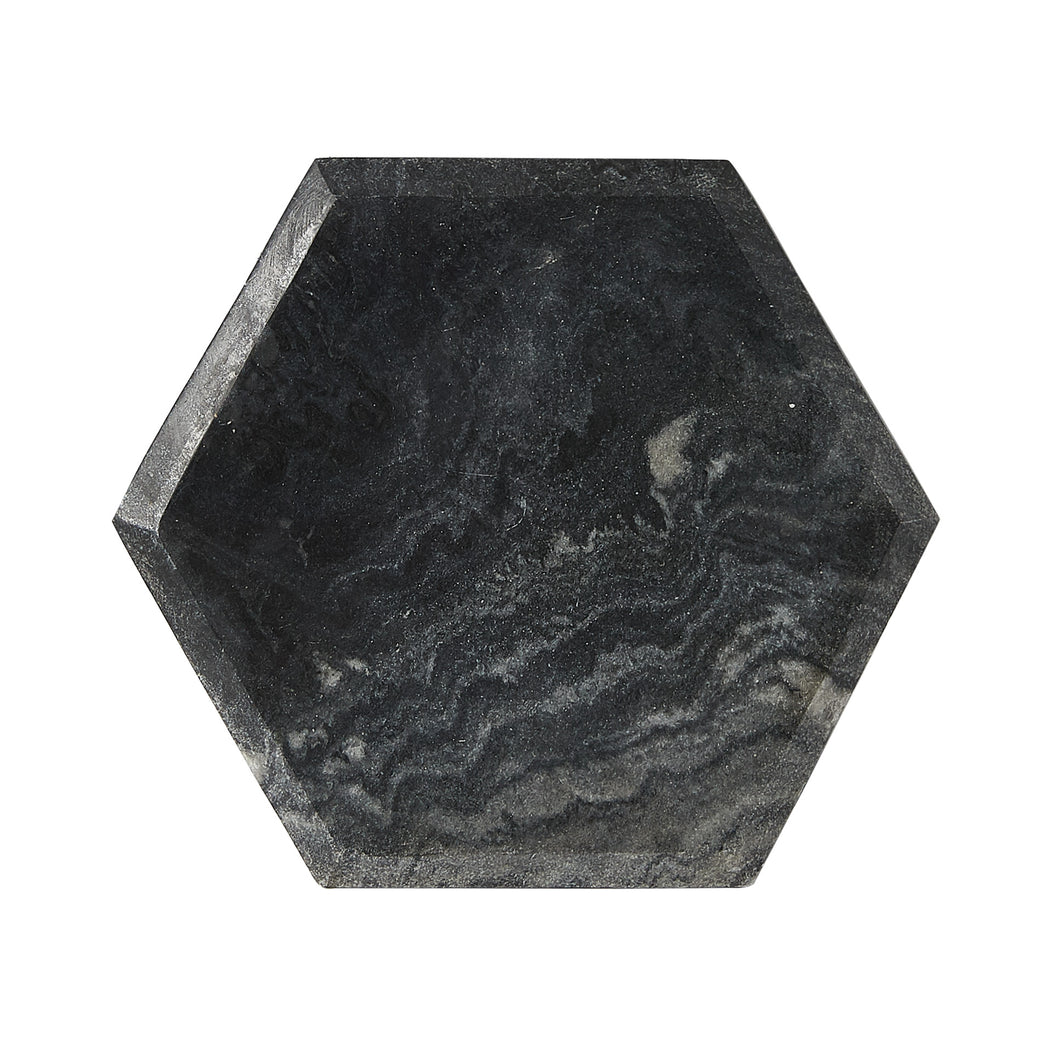 Black And Grey Geometric Marble Board