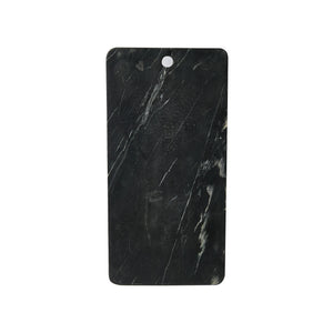 Black Marble Board With Grey Veins