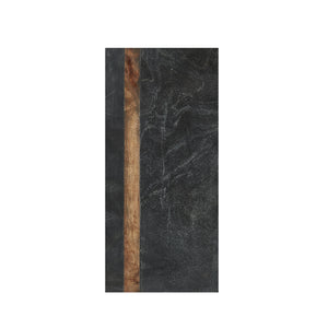 Black Marble Board With Wood Strip