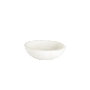 Sm Shallow White Bowl