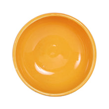Sm Shallow Light Orange Bowl