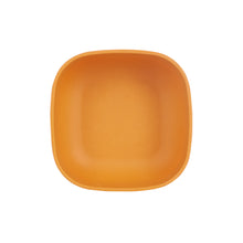 Md Bright Orange Square Bowl