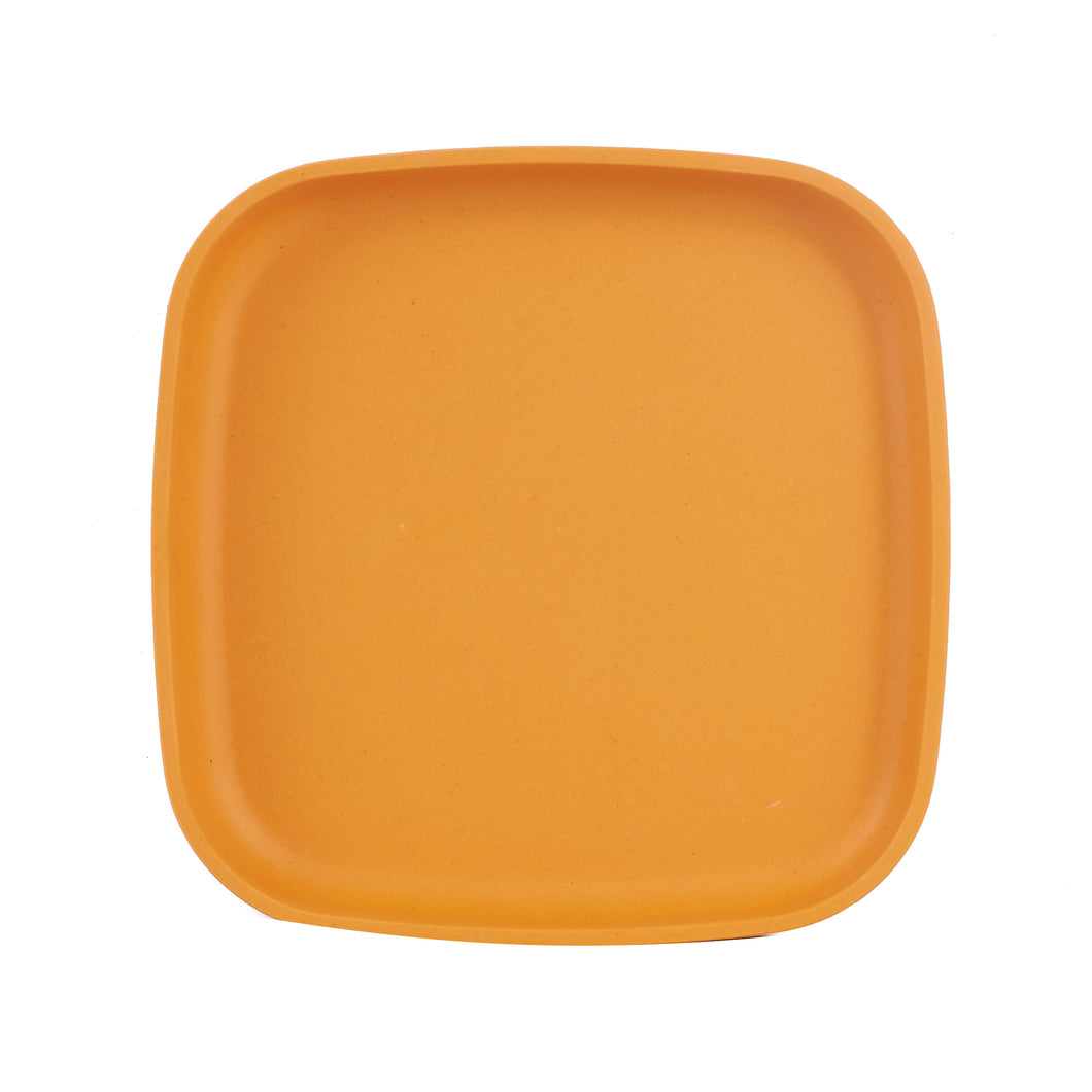Md Square Bright Orange Plate