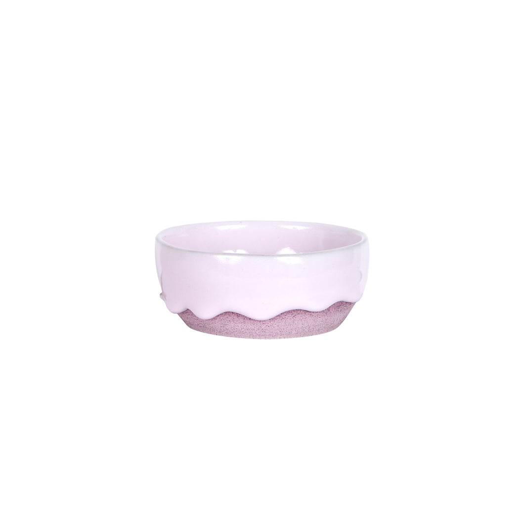 Sm Pink Dripping Bowl