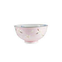 Sm Light Pink Floral Bowl