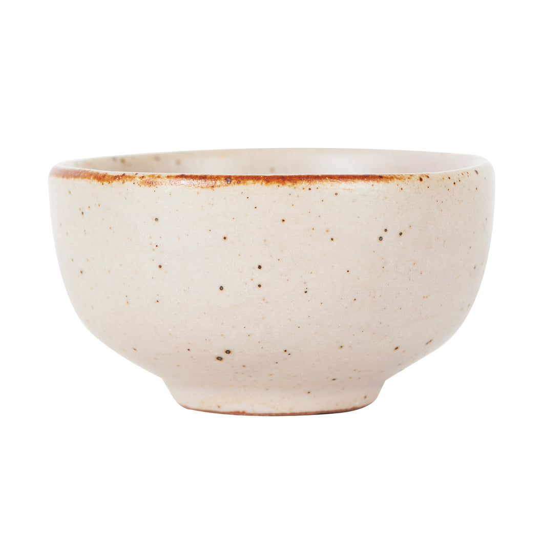 Sm Pink Speckled Bowl