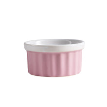 Sm Pink And While Ramekin