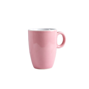 Sm Pink Espresso Mug With Handle