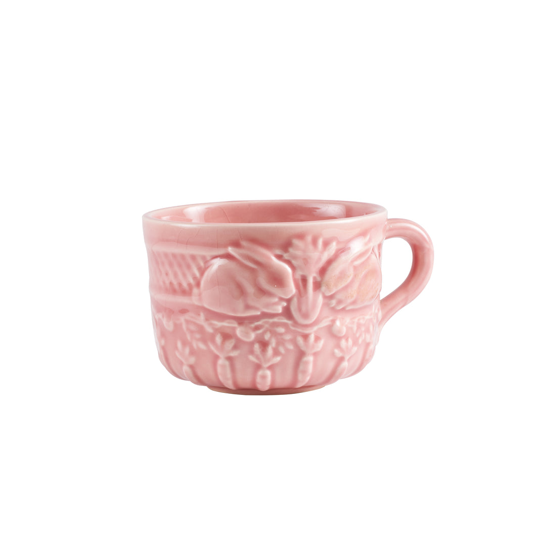 Sm Light Pink Bunny Tea Cup