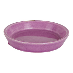 Sm Shallow Purple Dish