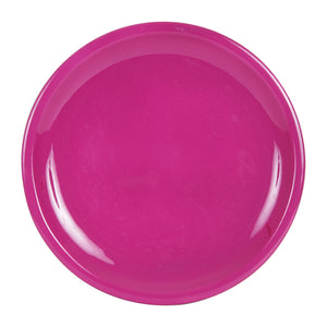 Md Fuchsia Plate With Rim