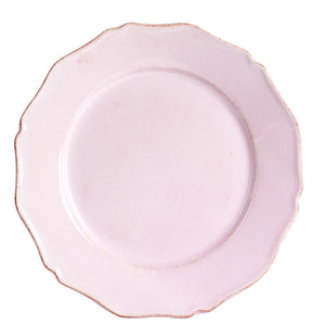 Lg Faux Vintage Light Pink Plate