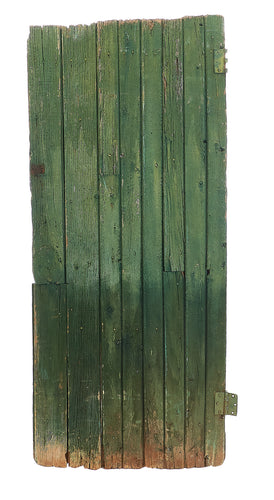 Lg Double-Sided Green Rough Worn Door