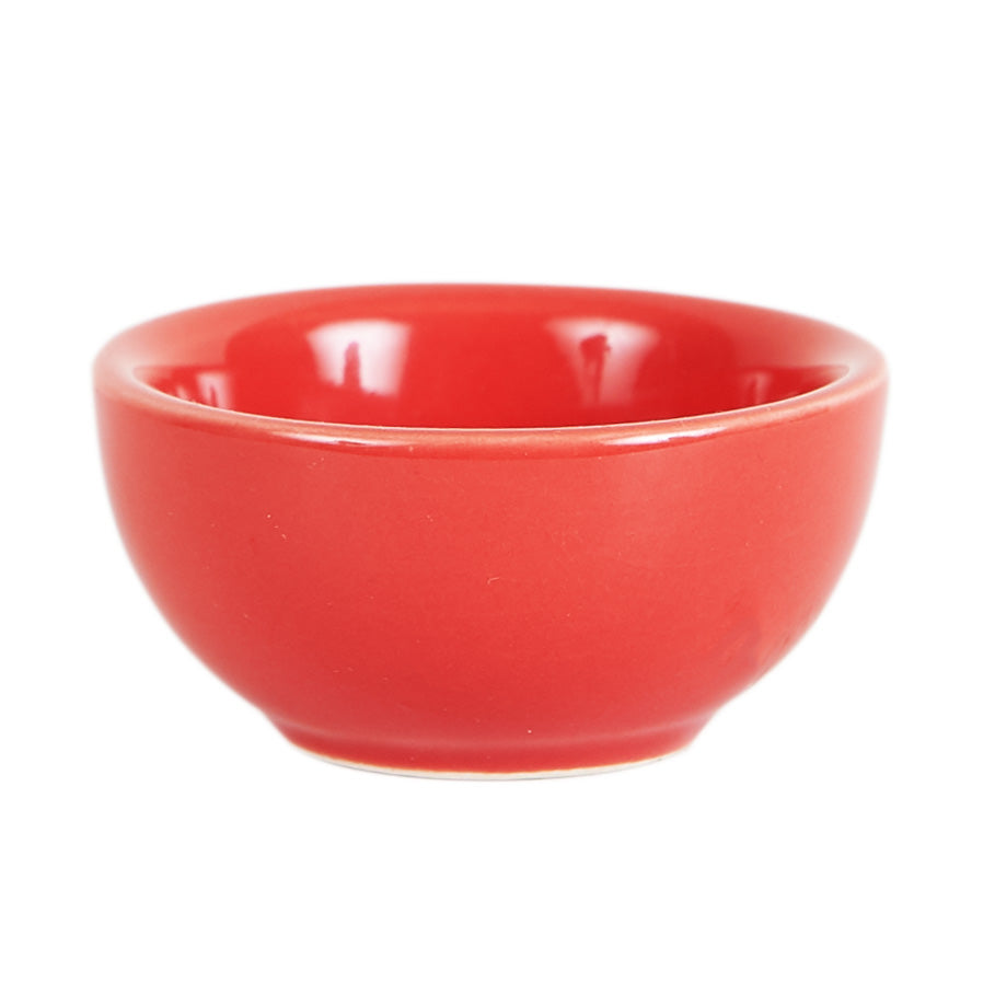 Sm Bright Red Pinch Bowl