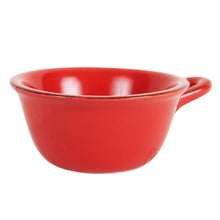 Red Bowl With Handle