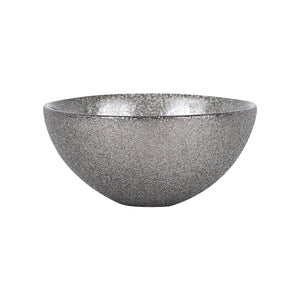 Sm Dark Sparkly Silver Bowl