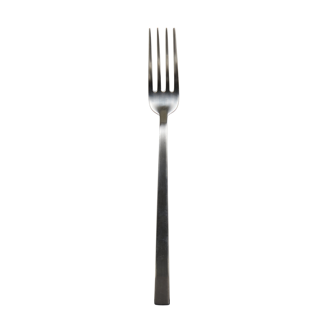 Silver Md Fork With Square Edge Handle
